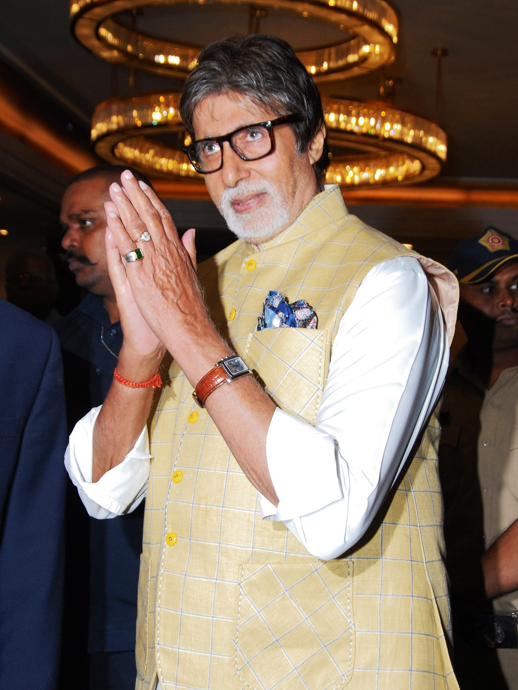 LEGEND: Indian Bollywood actor Amitabh Bachchan (AFP/Getty Images)