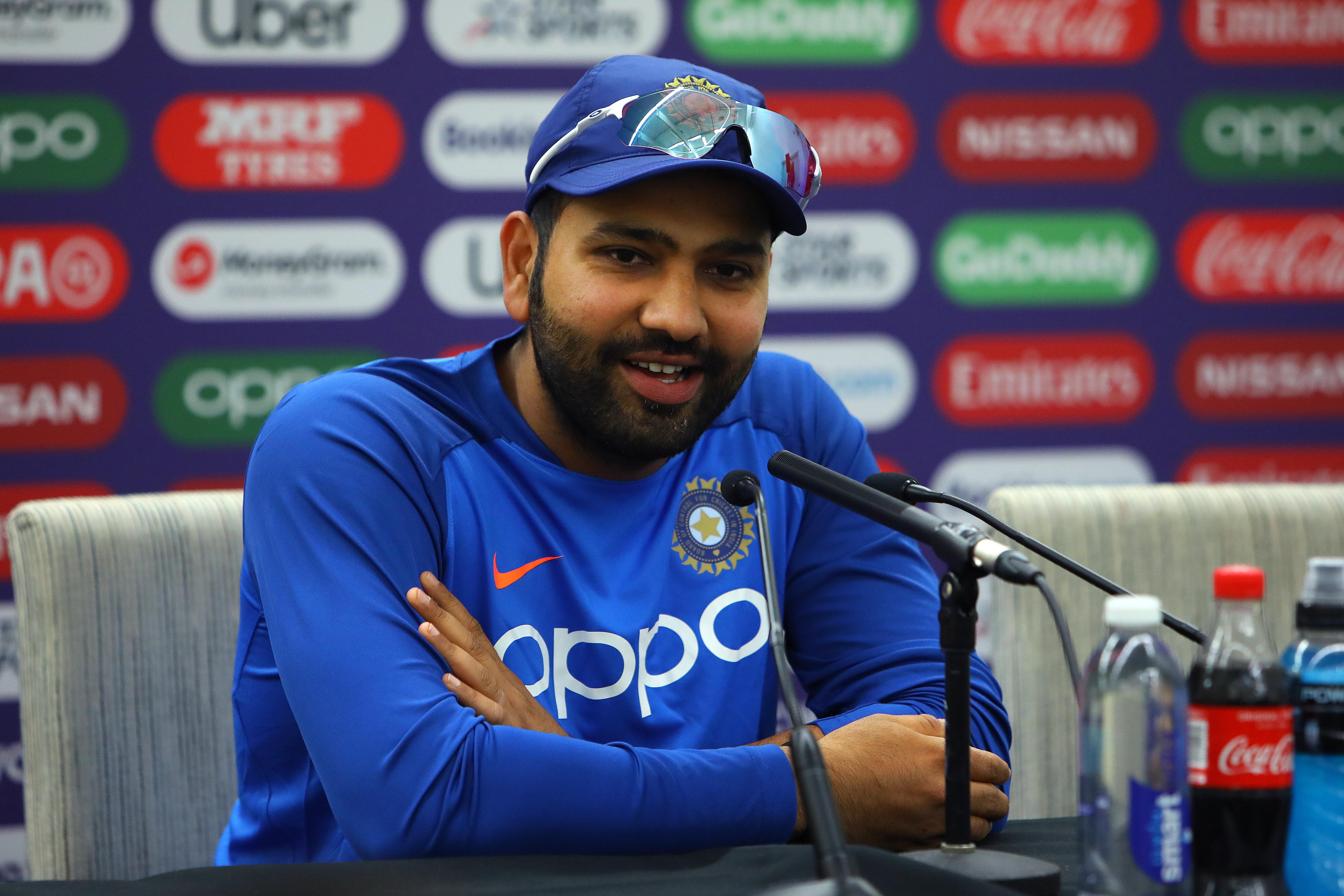 Rohit Sharma  (Photo by Charlie Crowhurst/Getty Images)
