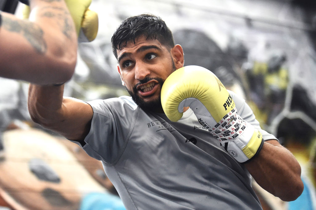 Amir Khan   (Photo by Nathan Stirk/Getty Images)