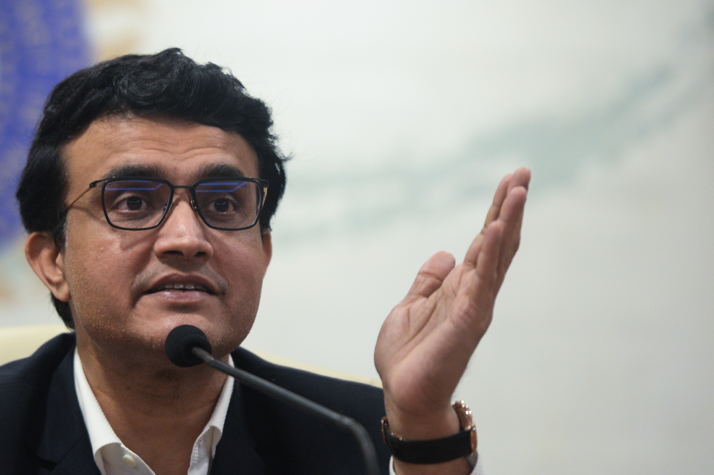 """The fans, franchises, players, broadcasters, sponsors and all other stakeholders are keenly looking forward to the possibility of IPL being hosted this year,"" said BBCI chief Sourav Ganguly.  (File photo: PUNIT PARANJPE/AFP via Getty Images)"
