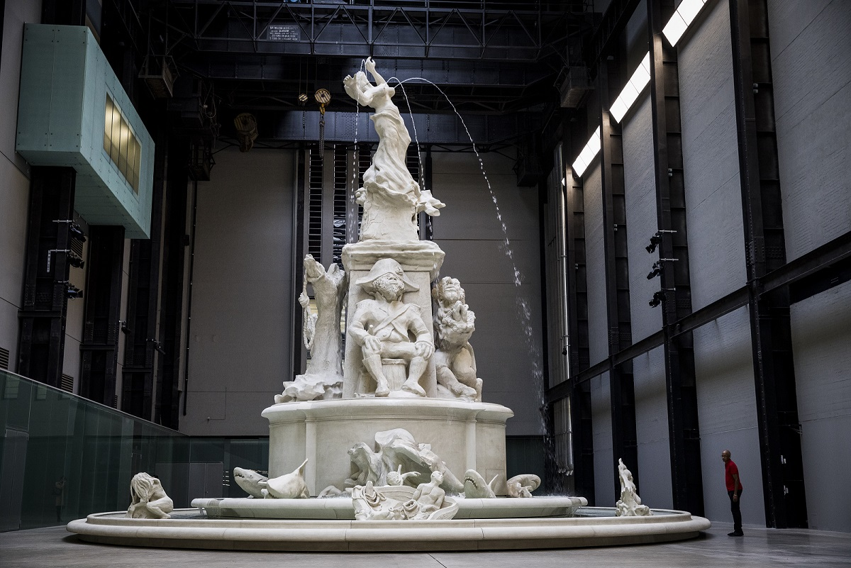 COMPLEX HISTORIES: Kara Walker's Fons Americanus in the Turbine Hall (Photo by Tristan Fewings/ Getty Images)