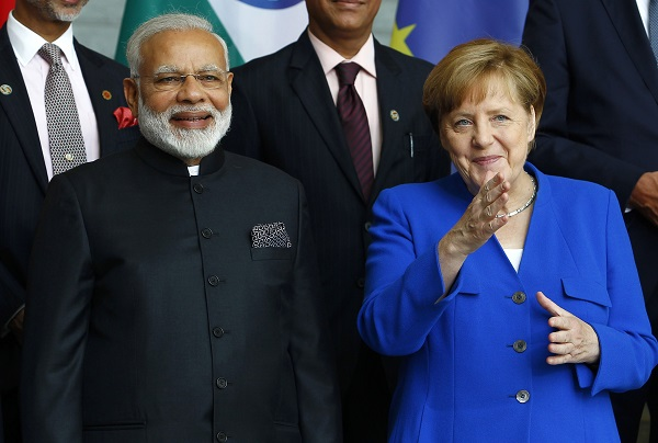 Merkel will be accompanied by several cabinet colleagues and a business delegation, ambassador Walter J Lindner told reporters (Photo: Michele Tantussi/Getty Images).