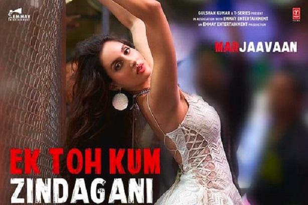 Image result for nora fatehi song ek to kam jindgaani