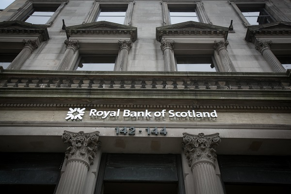 RBS reported a loss after tax of £315 million in the three months to September 30, compared with a net profit of £448m in the third quarter of 2018 (Photo: Matt Cardy/Getty Images).