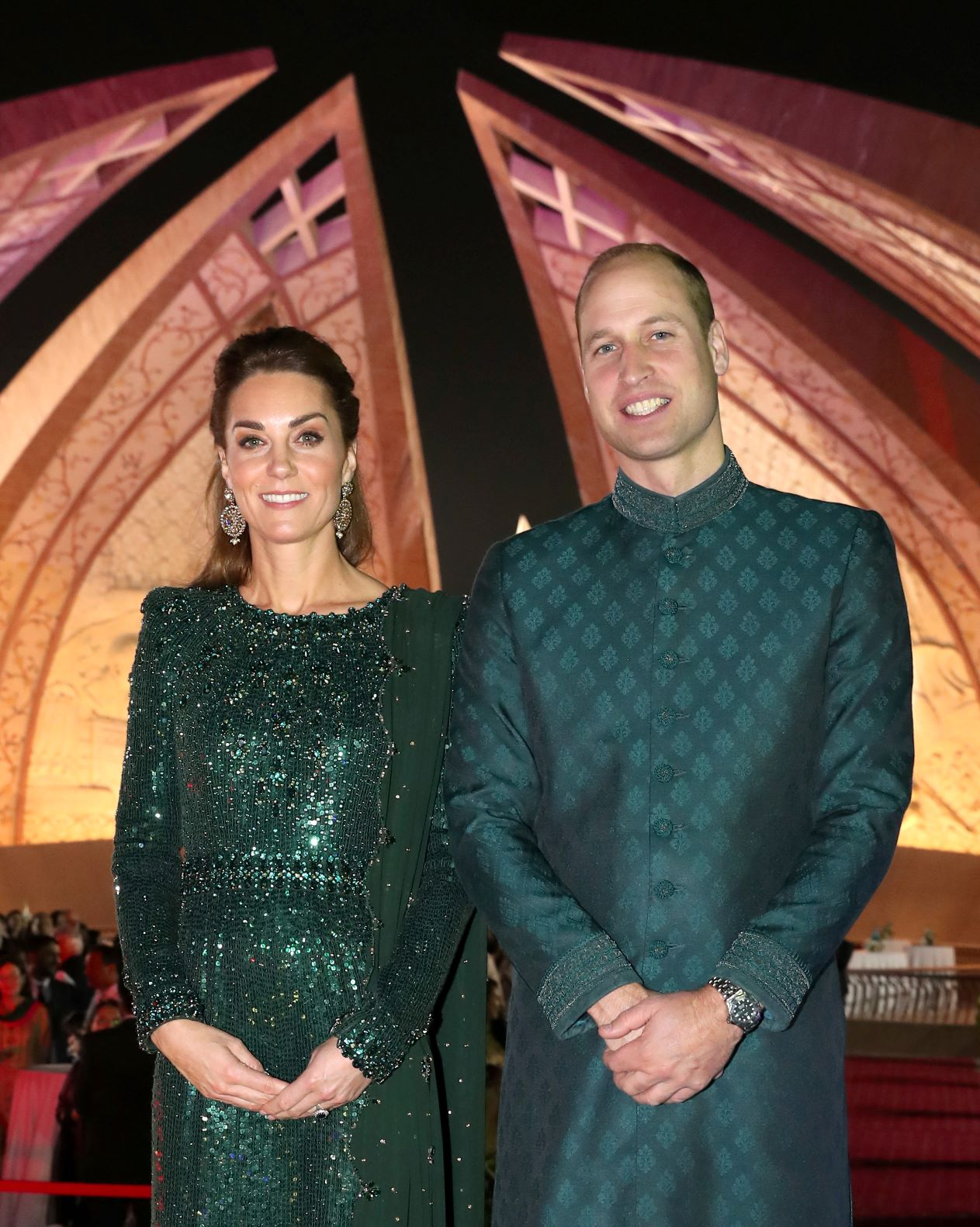 Royal visit: The Duke and Duchess of Cambridge at Pakistan's National Monument
