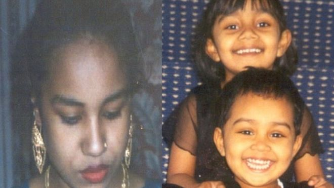 Juli Begum, 26, and her two children Anika and Thanha Khanum were brutally murdered.