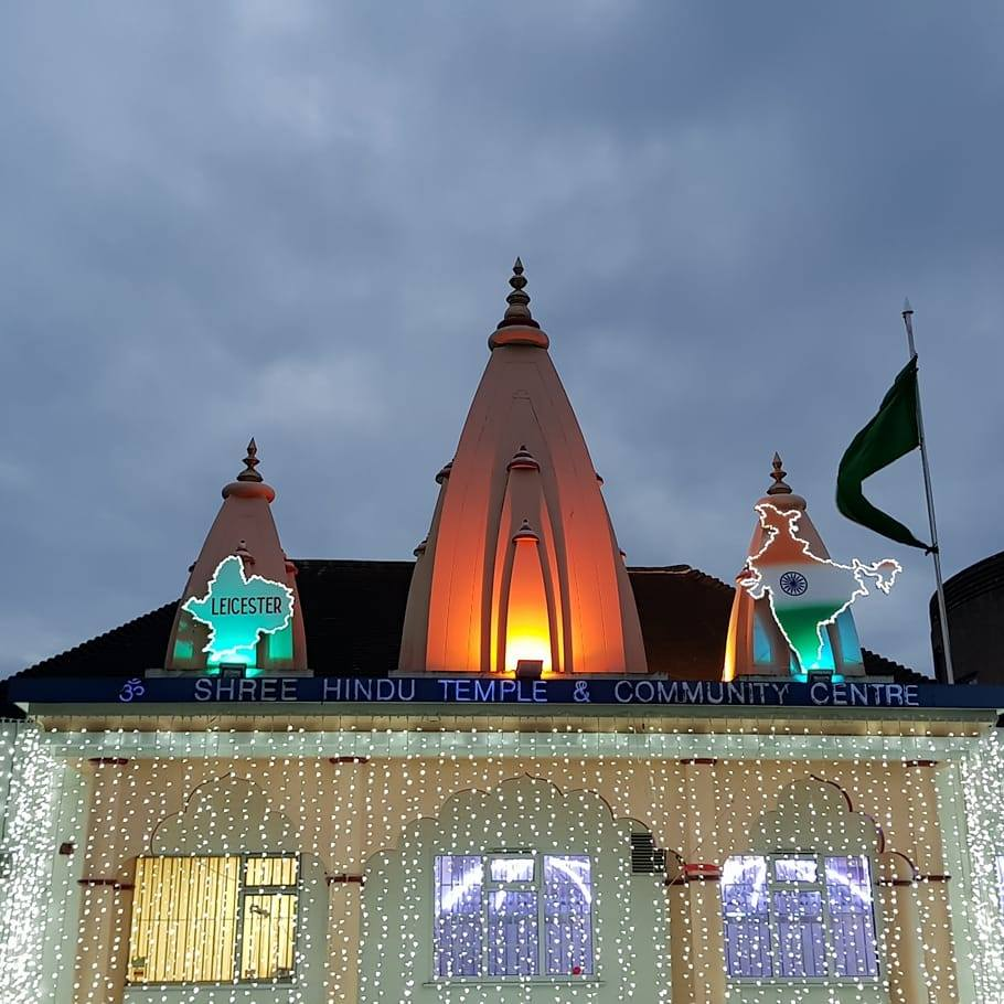 Hindu temple in Leicester burgled