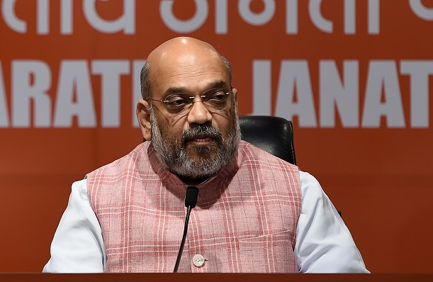 Home minister Amit Shah referred to Muslims as 'termites' (Photo: MONEY SHARMA/AFP via Getty Images).