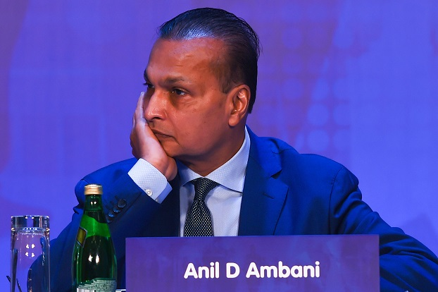 The development comes a day after RCom posted a consolidated loss of Rs 301.42 billion or £3.24bn for the July-September quarter due to provisioning for liabilities after the country's top court ruling on statutory dues (Photo: PUNIT PARANJPE/AFP via Getty Images).