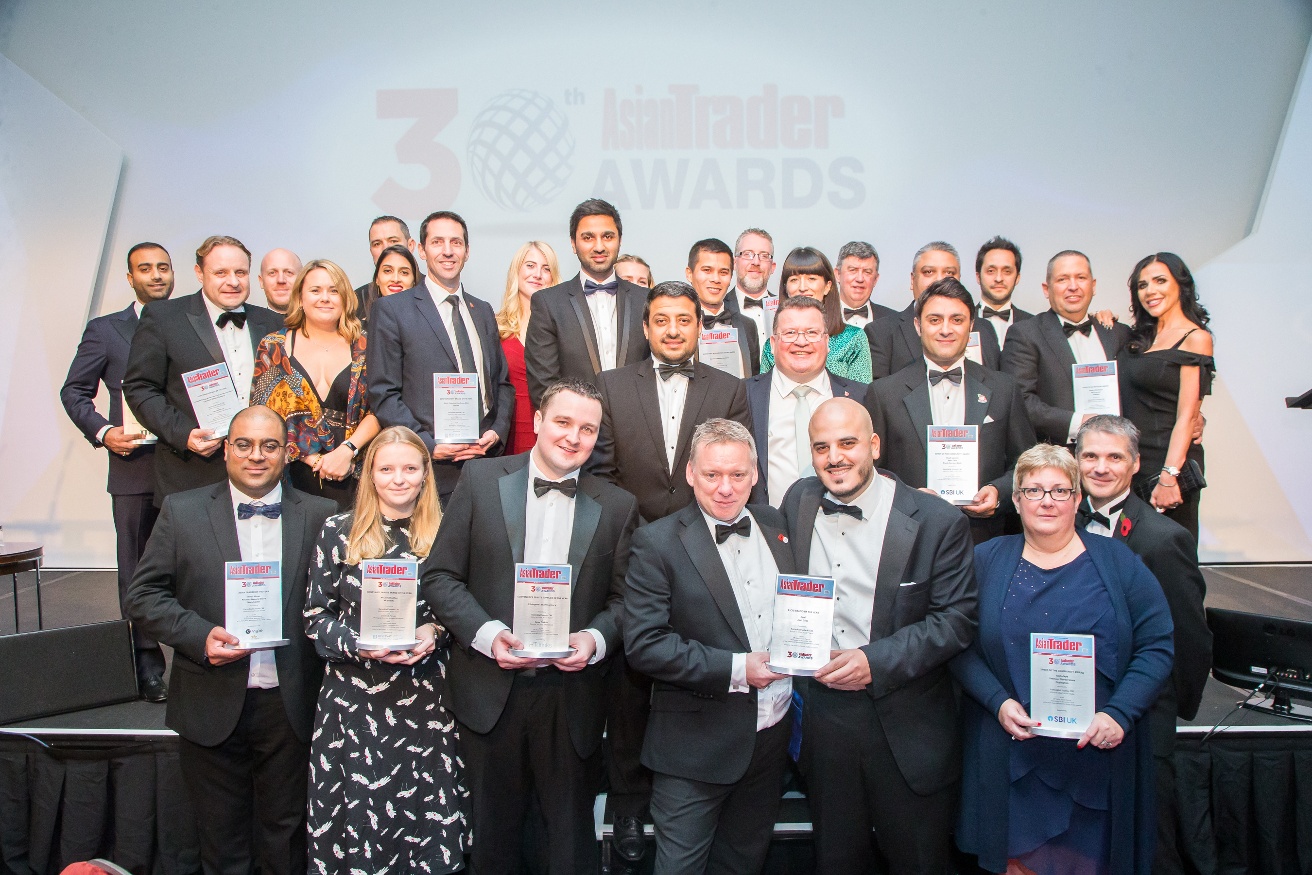 """After receiving the award, Morar told Asian Trader, a sister publication of Eastern Eye: """"Goodness knows how, but somehow I have won Asian Trader of the Year. It feels amazing. I think everyone should take part in retailing and give it a go for themselves."""""""