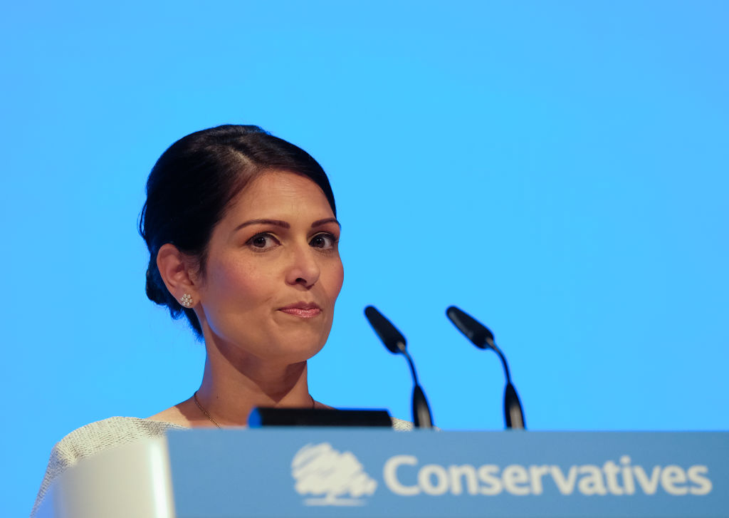 Priti Patel (Photo by Ian Forsyth/Getty Images)