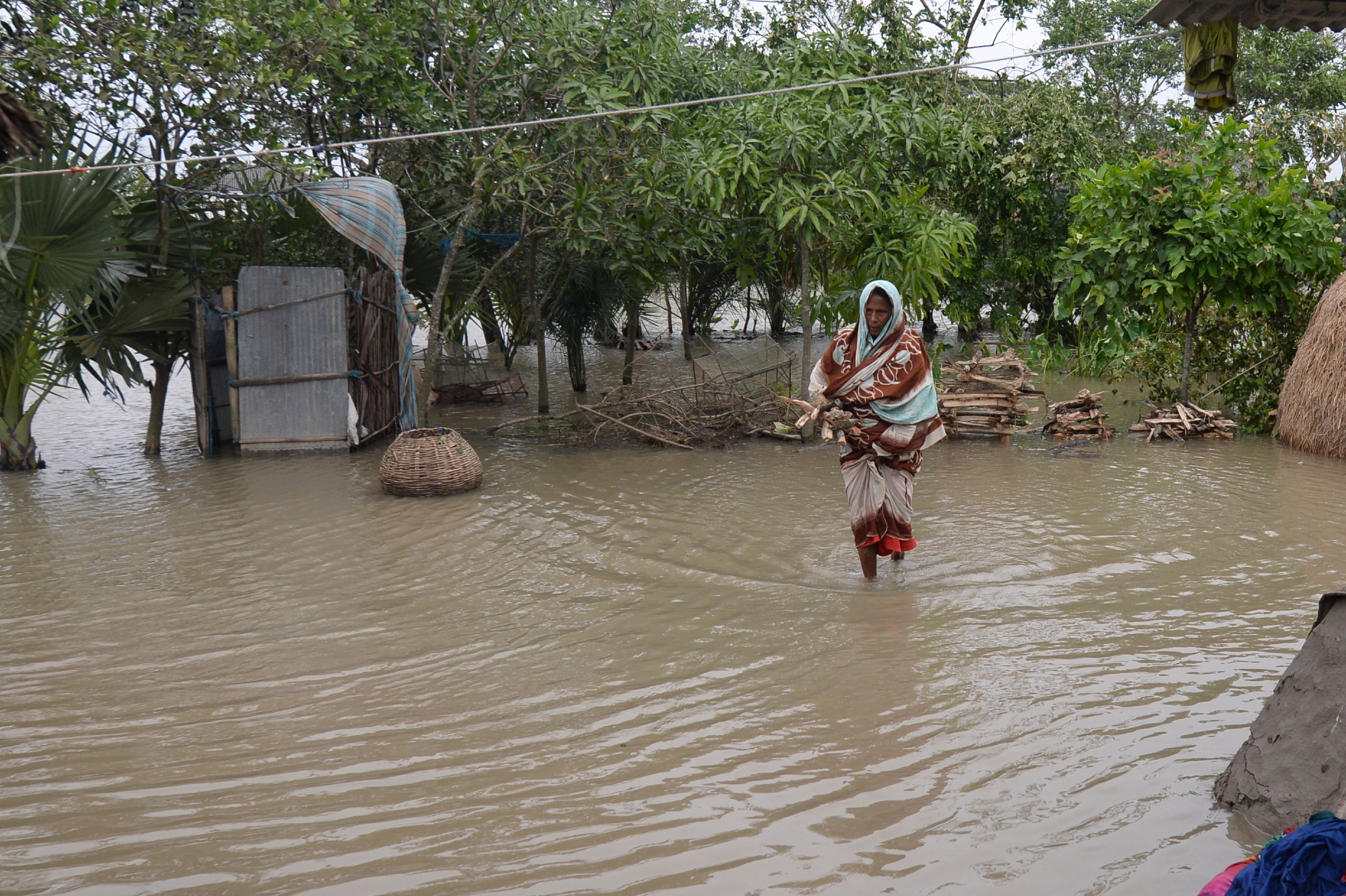 India's cyclone season starts in two weeks. (Photo by MUNIR UZ ZAMAN/AFP via Getty Images)