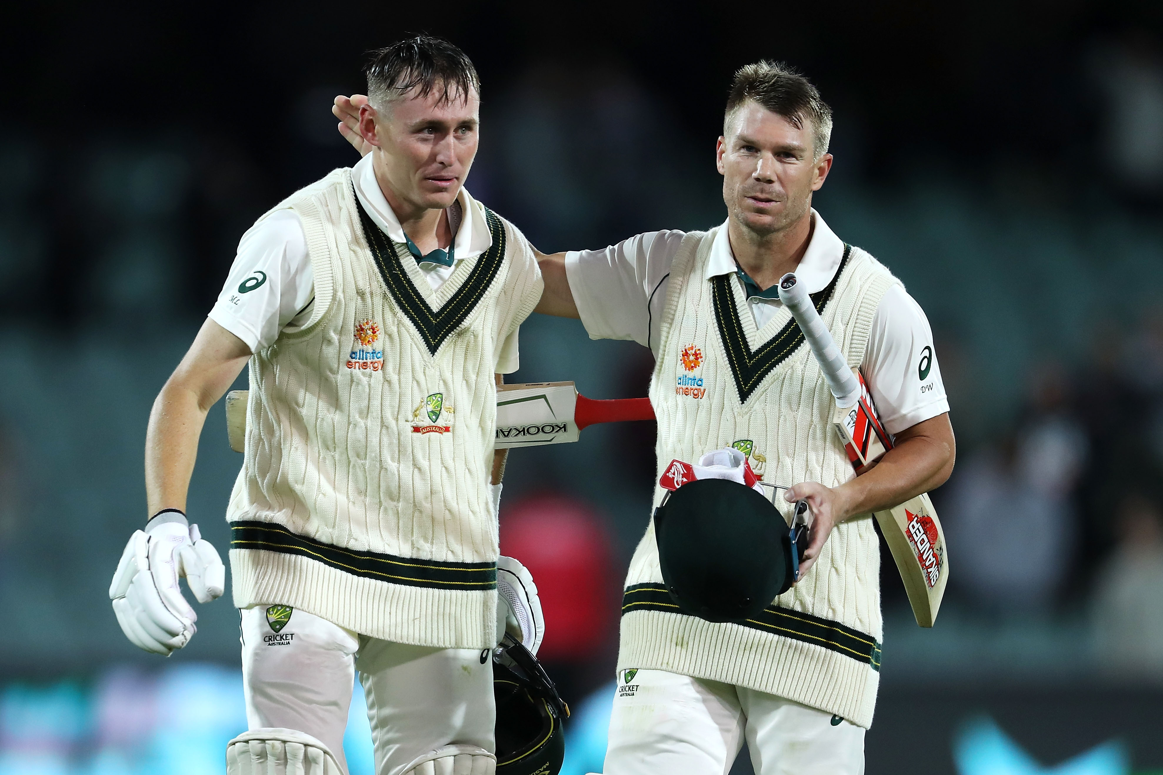 Warner Labuschagne Smack Centuries In Day Night Pakistan Test Easterneye