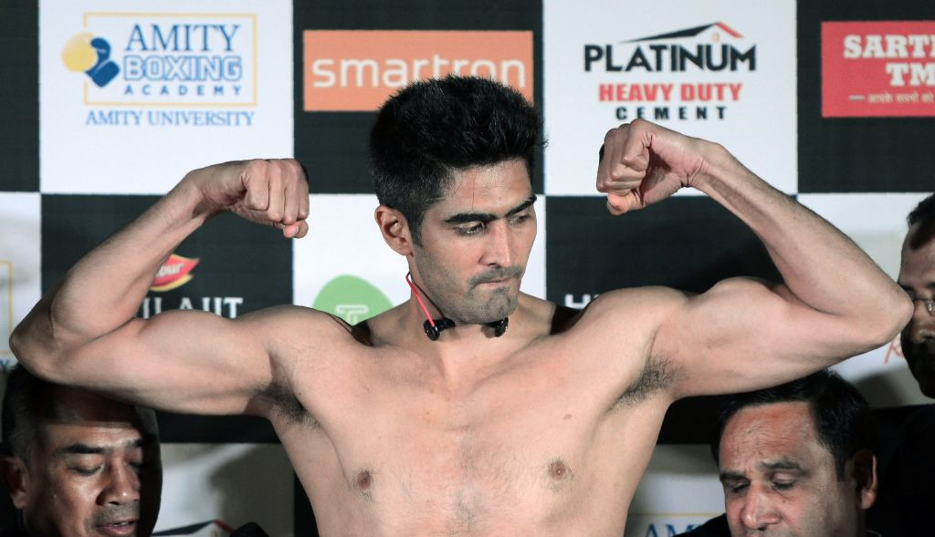 Indian boxer Vijender Singh  (Photo: PUNIT PARANJPE/AFP via Getty Images)