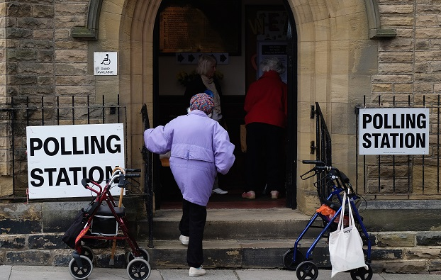 The commission added that 24 per cent of Asian voters and almost a third (31 per cent) of eligible people with mixed ethnicity are not yet registered, compared to a 17 per cent average across the population (Photo: Ian Forsyth/Getty Images).