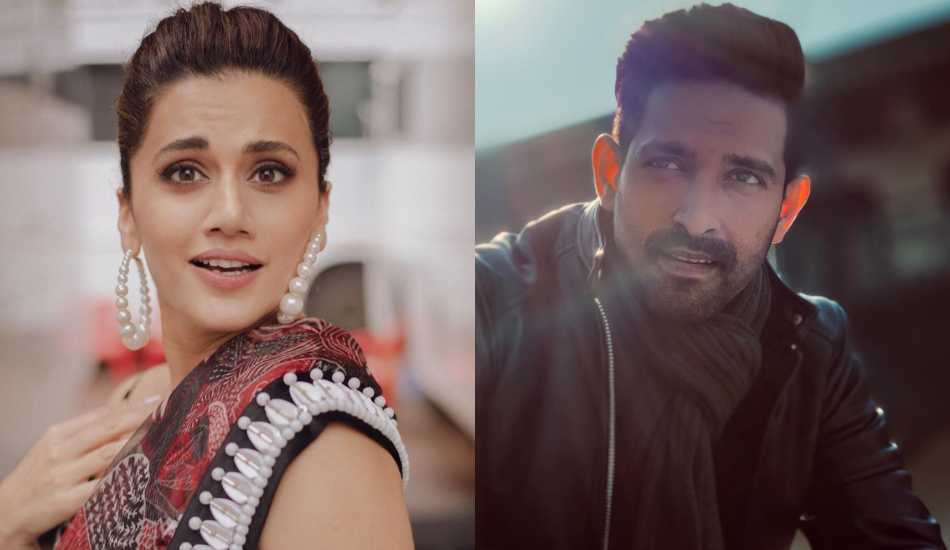 Taapsee Pannu and Vikrant Massey team up for a romantic-thriller