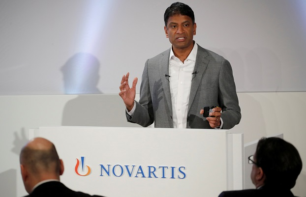 """In snapping up Medicines Co., the pharma giant said it will lay its hands on a promising cholesterol drug called inclisiran, described by company chief Vas Narasimhan as a """"potentially transformational medicine"""" (REUTERS/Arnd Wiegmann/File Photo)."""