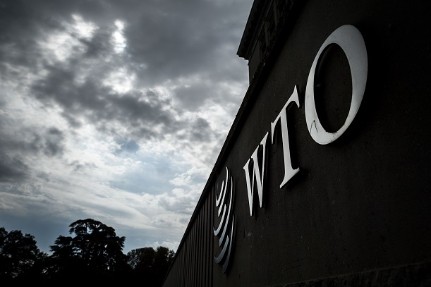 "In the ruling on Friday, the WTO's Dispute Settlement Body rejected several charges by India but found that the US had ""failed to comply with the recommendations and rulings of the DSB in the original dispute."" (Photo: FABRICE COFFRINI/AFP via Getty Images)."