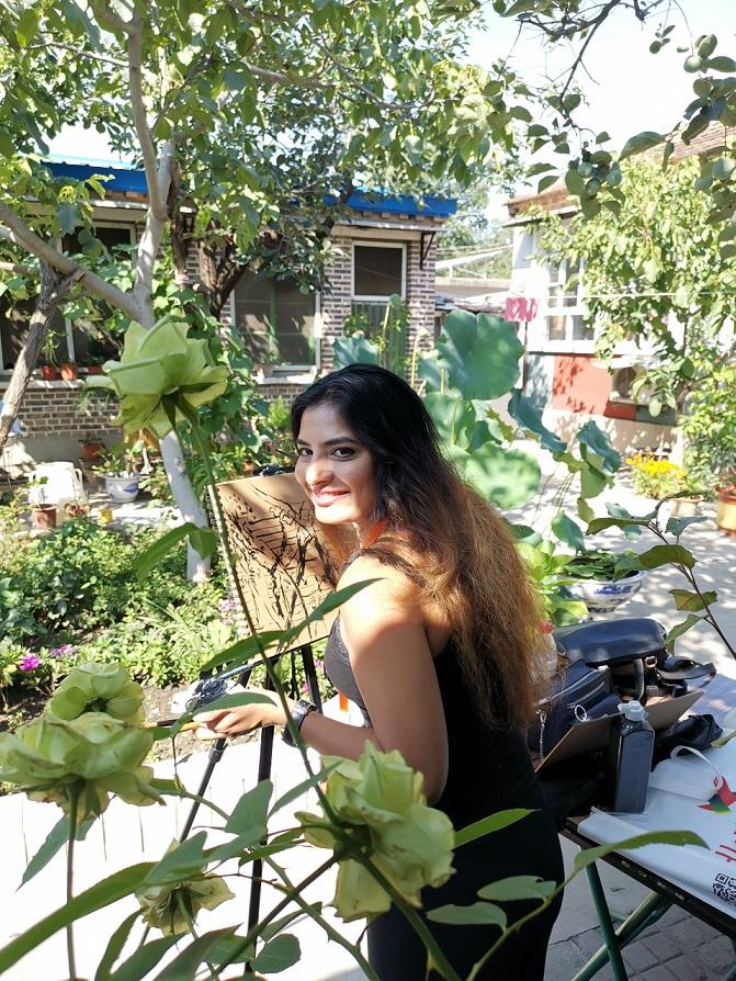 ART ATTACK:Soraya Sikander
