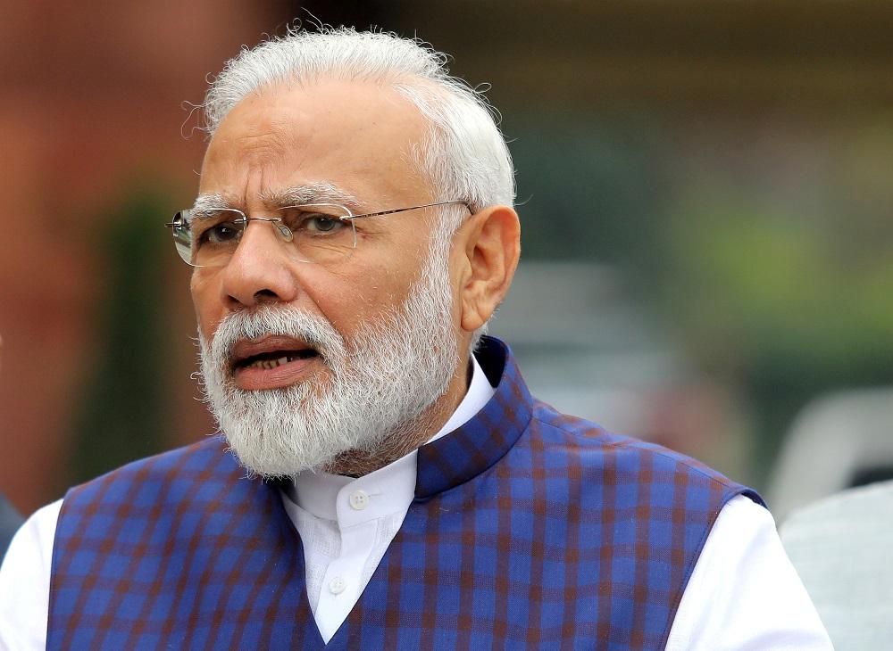 Narendra Modi REUTERS/Altaf Hussain
