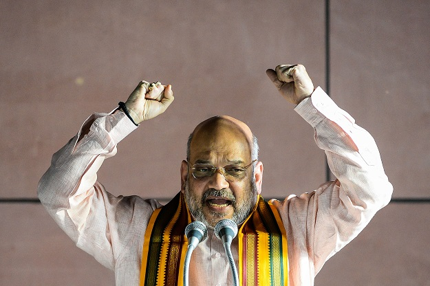 Last month, Amit Shah, India's federal home (interior) minister, told parliament that non-Muslim minorities - Hindus, Buddhists, Jains, Christians, Sikhs, and Parsis - who fled from Bangladesh, Pakistan, and Afghanistan would be given Indian citizenship under the proposed law (Photo: CHANDAN KHANNA/AFP via Getty Images).