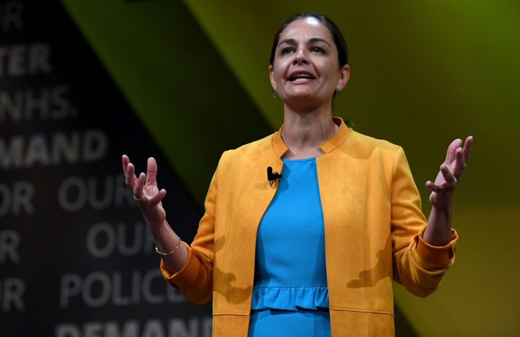 Liberal Democrat candidate for Mayor of London Siobhan Benita (Photo by Finnbarr Webster/Getty Images)