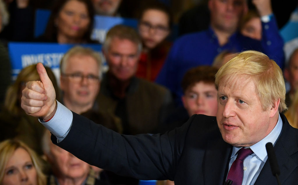 British Prime Minister and Conservative leader Boris Johnson  (Photo by  Ben Stansall - WPA Pool/Getty Images)