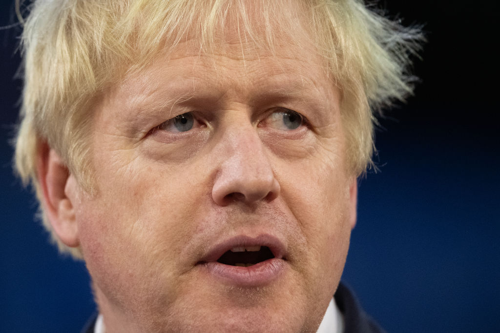 Britain's prime minister Boris Johnson  (Photo by Leon Neal/Getty Images)