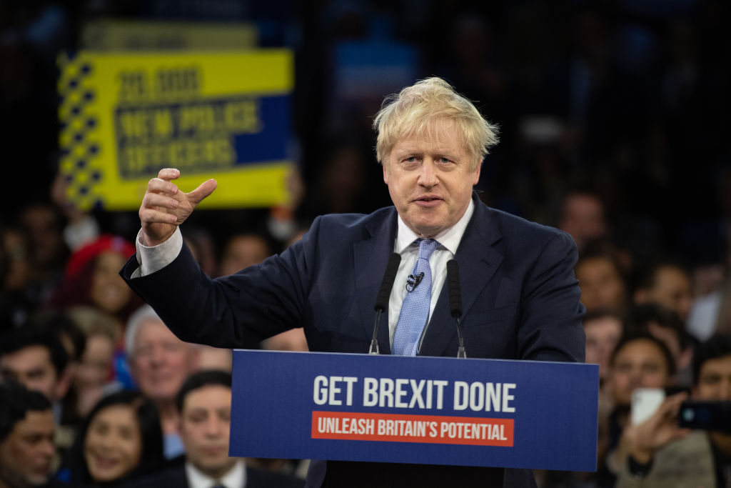 Britain's prime minister Boris Johnson. (Photo by Leon Neal/Getty Images)