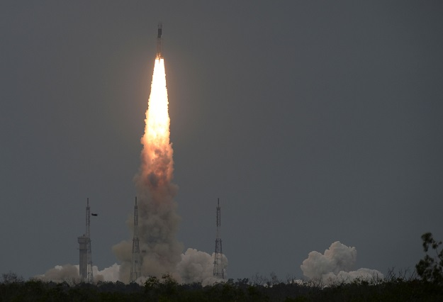 """""""The Chandrayaan2 Vikram lander has been found by our NASA Moon mission, the Lunar Reconnaissance Orbiter. See the first mosaic of the impact site,"""" NASA said in a tweet sharing before and after impact images (Photo: ARUN SANKAR/AFP via Getty Images)."""