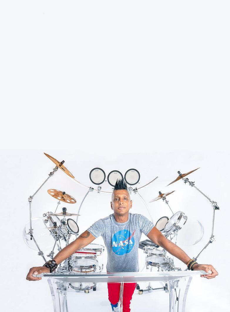 BEAT MACHINE: DJ Ravidrums