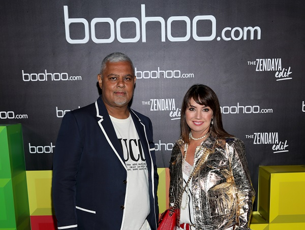 Mahmud Kamani, 55, and Carol Kane, 53, between them sold 4.3 per cent of Boohoo's equity through a placing to institutional investors, reducing their combined holding to 15.8 per cent (Photo: Jerritt Clark/Getty Images).