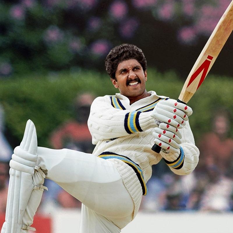 BIG LEAGUE: Ranveer Singh in '83
