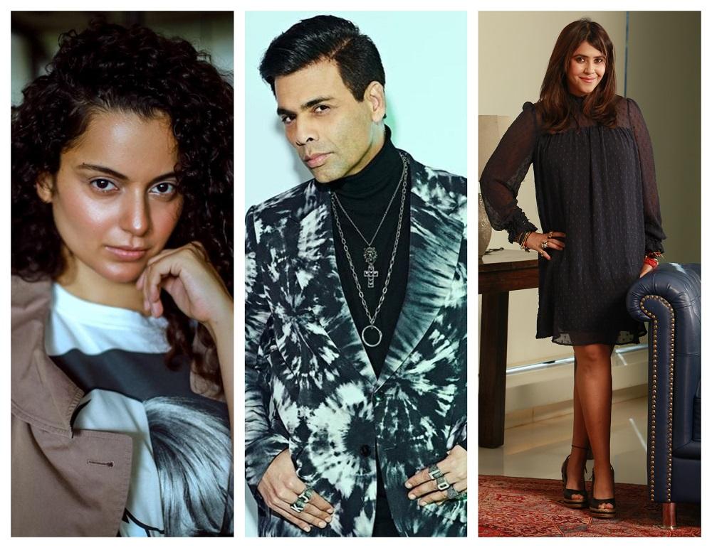 Kangana Ranaut, Karan Johar & Ekta Kapoor