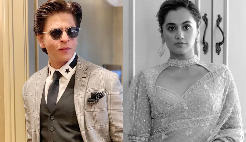 Instagram: Shah Rukh Khan, Taapsee Pannu