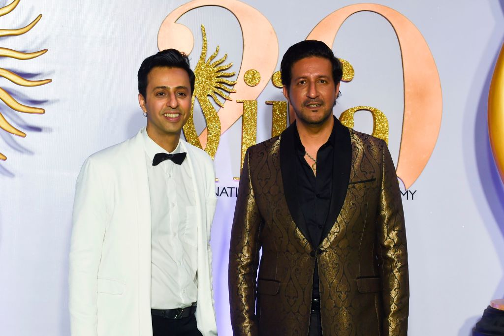 MASTERFUL: Salim (left) and Sulaiman Merchant (Indranil Mukherjee/AFP/Getty Images)