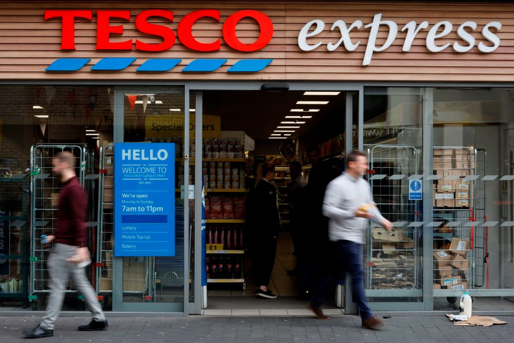 The disposal allows Tesco to further simplify and focus the business on its core operations, it said, adding that the proceeds will be used for general corporate purposes (Photo: TOLGA AKMEN/AFP via Getty Images).