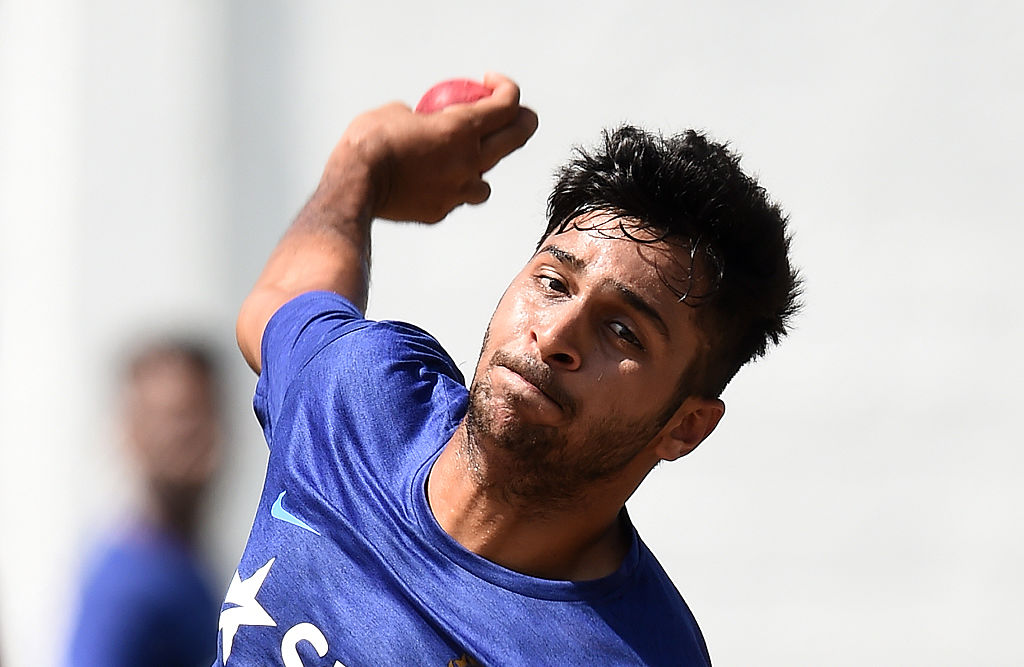 Indian cricketer Shardul Thakur (JEWEL SAMAD/AFP via Getty Images)