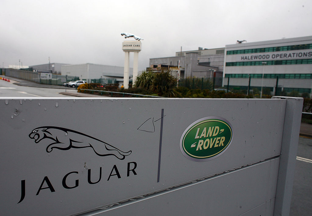 A general view of the Halewood operations site of Jaguar and Land Rover (Photo by Christopher Furlong/Getty Images)