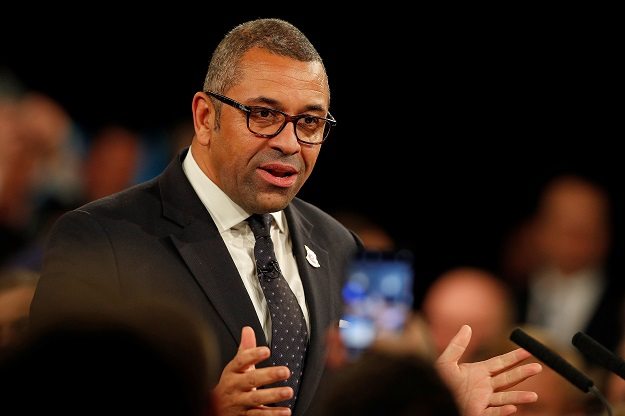 Conservative Party Chairman James Cleverly (Photo: ADRIAN DENNIS/AFP via Getty Images).