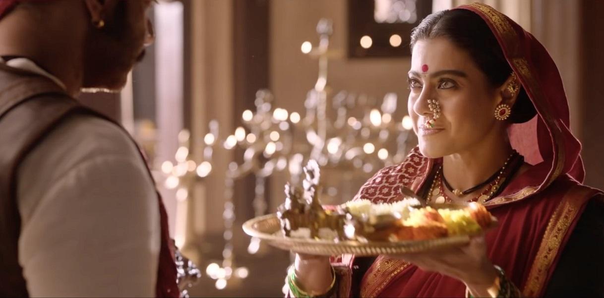 UNFORGETTABLE: Kajol with Ajay Devgn in Tanhaji: The Unsung Warrior