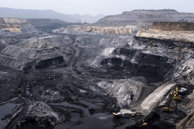 India plans to introduce global tenders for coal mining blocks in March, coal minister Pralhad Joshi said after cabinet approved the plans, a move that could end state-run Coal India Ltd's near-monopoly of the fuel (Photo: XAVIER GALIANA/AFP via Getty Images).