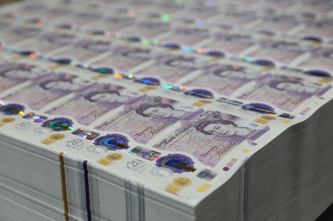 """""""It is the most secure banknote yet with sophisticated security features making it difficult to counterfeit but simple and quick to check,"""" the Bank of England said in a release."""