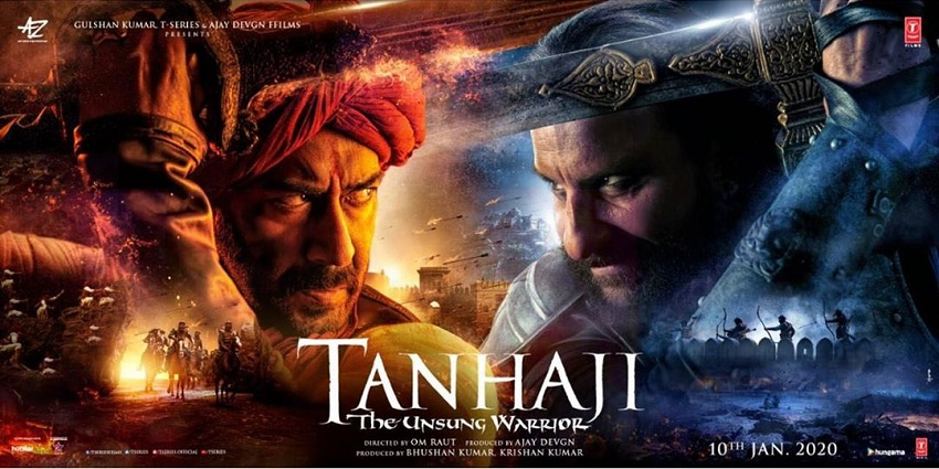 Tanhaji: The Unsung Warrior Poster