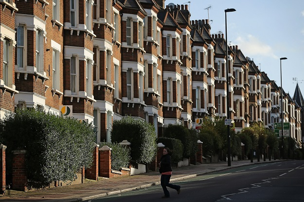 One of the most striking trends to be forecast by property experts is that the next few years will be marked by a relative boom in house prices in the north of England, compared to slower growth in Greater London and the southeast (Photo: Dan Kitwood/Getty Images).