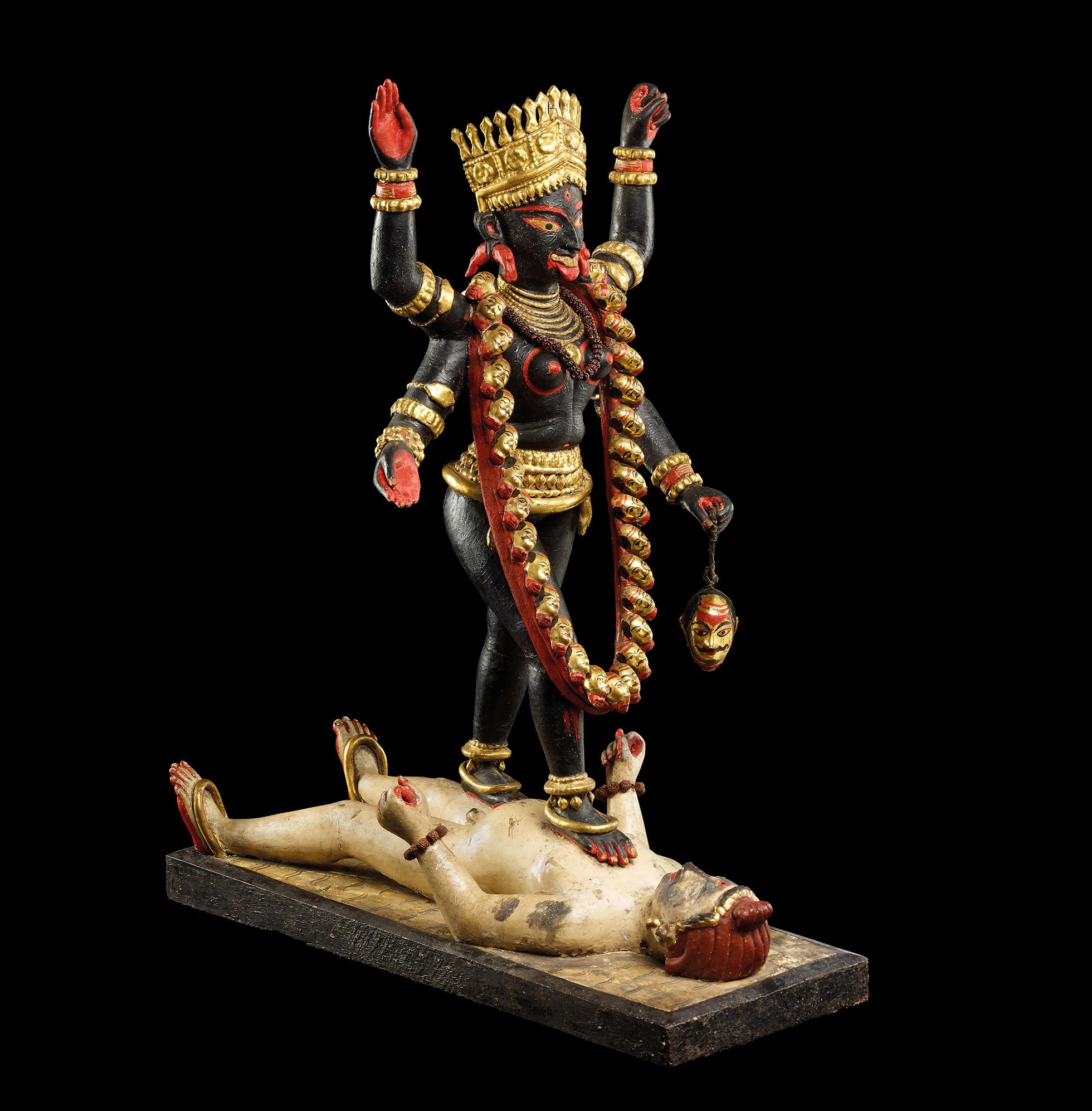 Yogini statue from 900AD displayed at the British Museum (Twitter, British Museum).