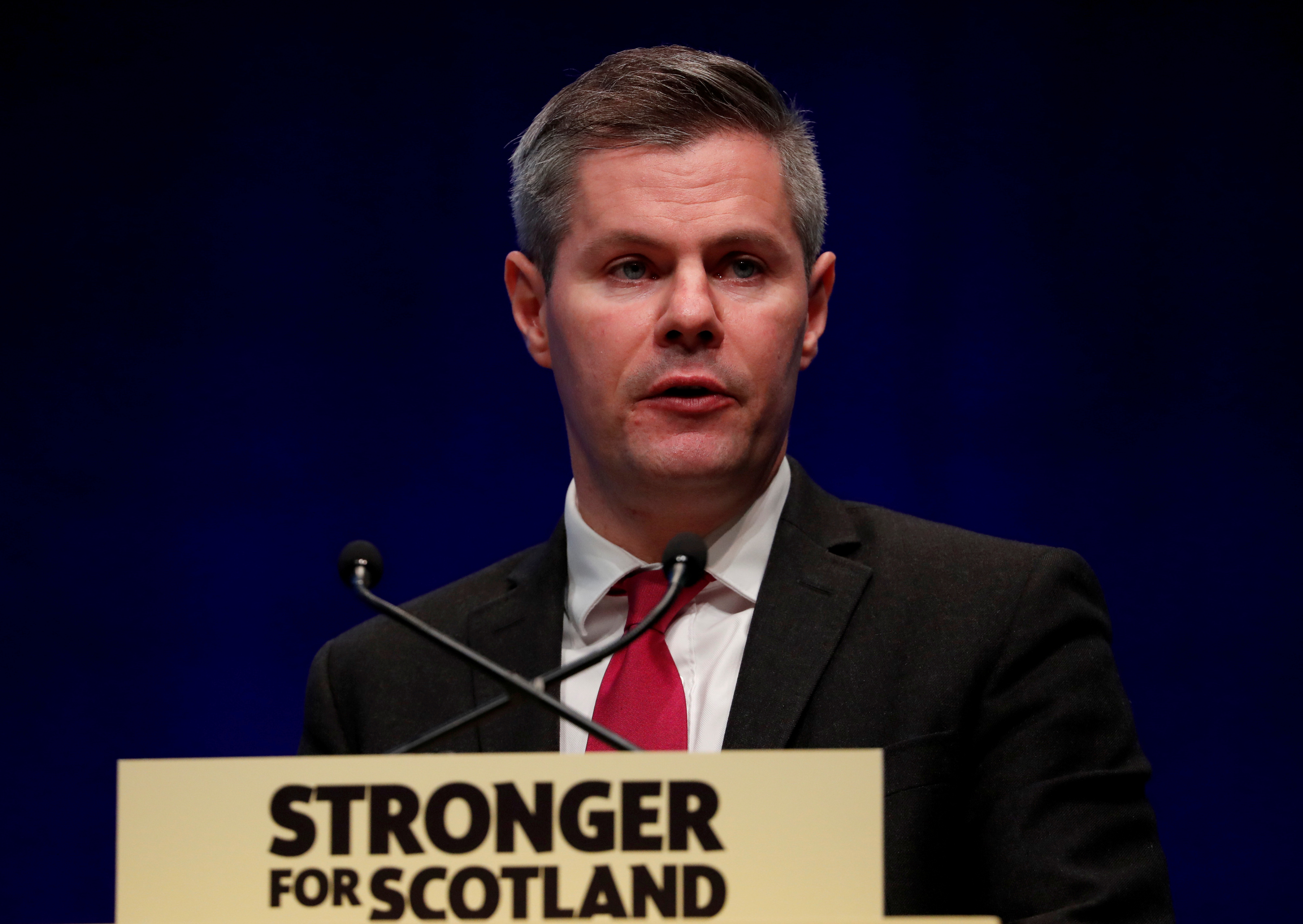 Scotland's Finance Secretary Derek Mackay REUTERS/Russell Cheyne/File Photo