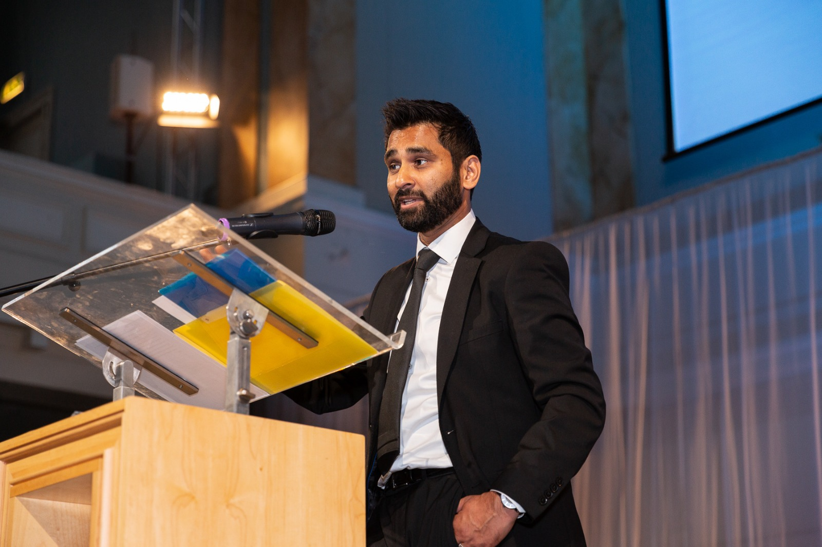 Amit Patel, who lives in London, uses his experiences to raise awareness of how some people with disabilities are treated in public.