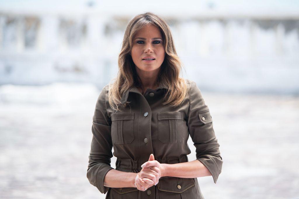 US First Lady Melania Trump (SAUL LOEB/AFP via Getty Images)