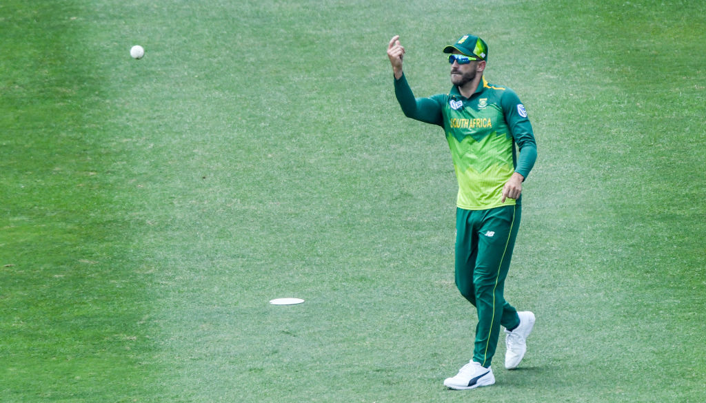 FILE PHOTO: Faf du Plessis